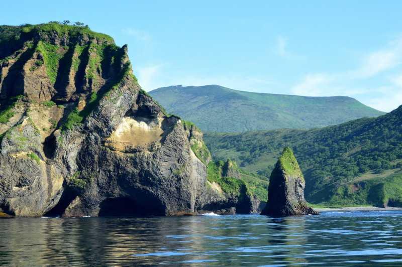 Океанское побережье Итурупа