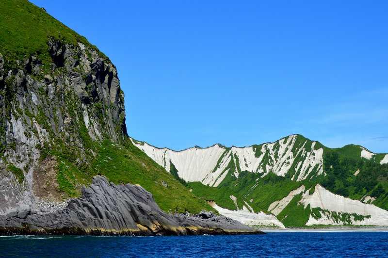 Белые скалы с океанской стороны