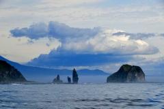 Итуруп с океанской стороны